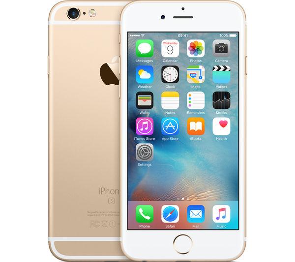 apple iphone 6s 32 gb gold deals pc world. Black Bedroom Furniture Sets. Home Design Ideas
