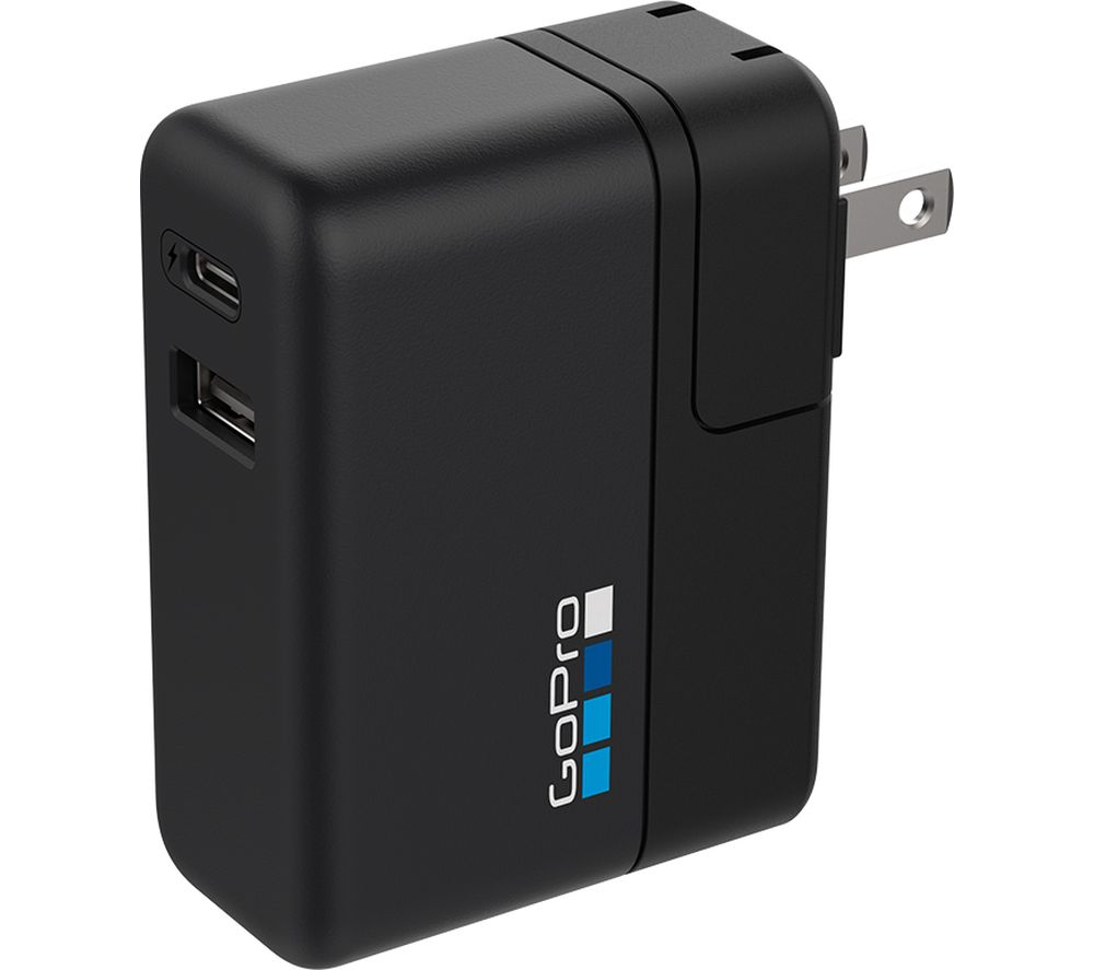 GOPRO AWALC-002 Supercharger International Dual Port Charger - Black