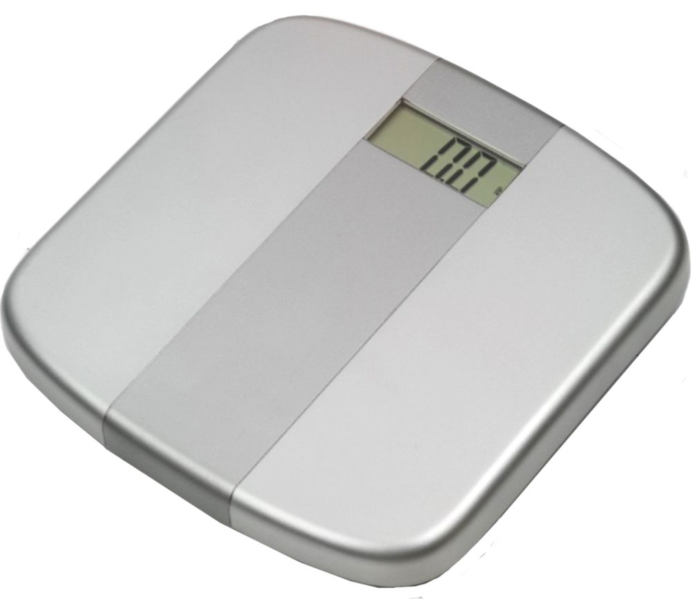 WEIGHT WATCHERS Electronic Scale  Silver Silver