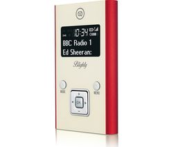VQ Blighty -PDR-RD Portable DAB+/FM Radio - Red