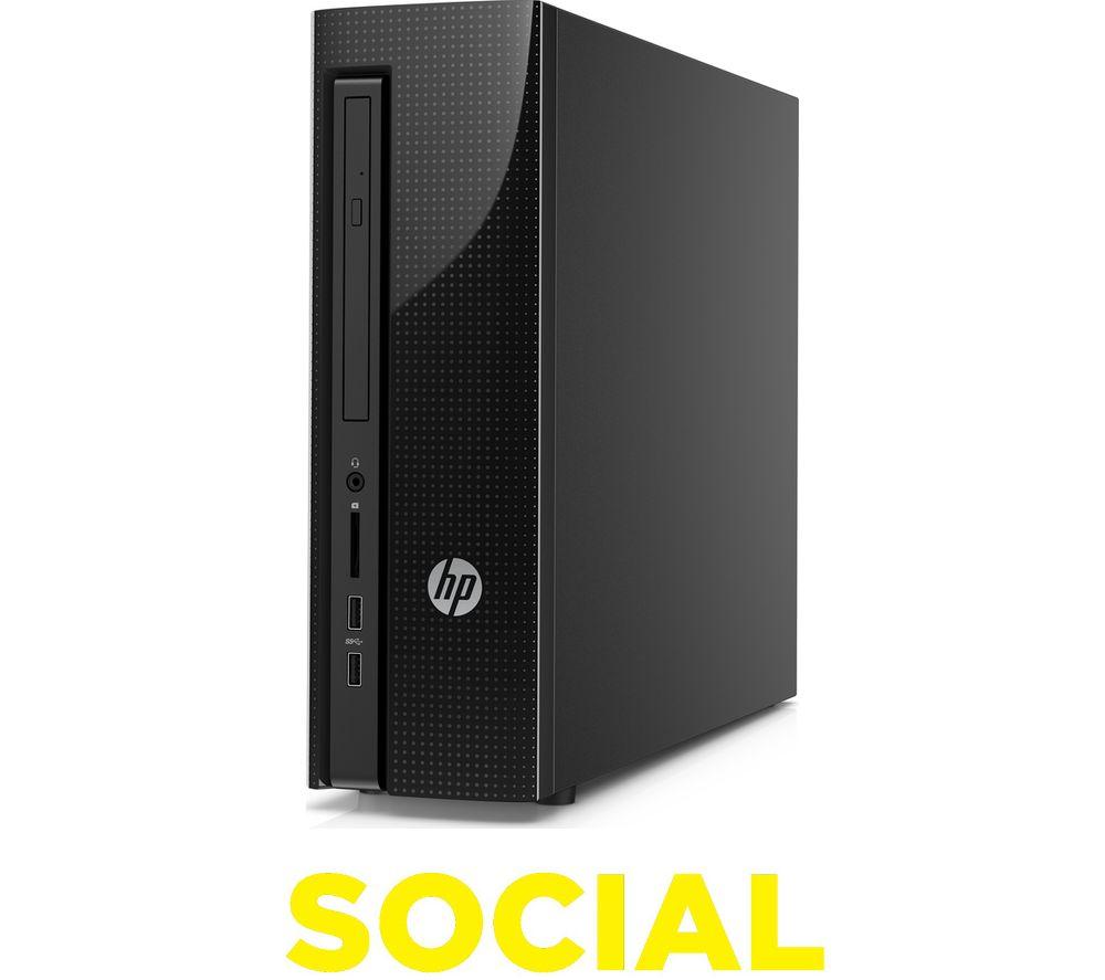 HP Slimline 411-a000na Desktop PC + Office 365 Personal