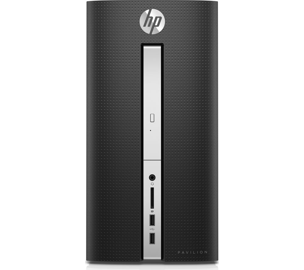 HP Pavilion 570-p046na Desktop PC + LiveSafe Unlimited 2017 - 1 year + Office 365 Home