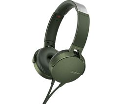 SONY Extra Bass MDR-XB550AP Headphones - Green