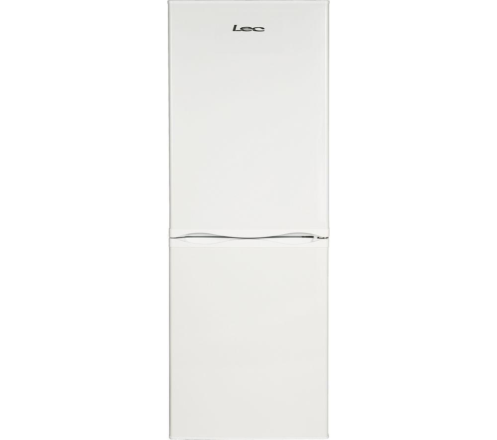 LEC TF55153W 5050 Fridge Freezer  White White
