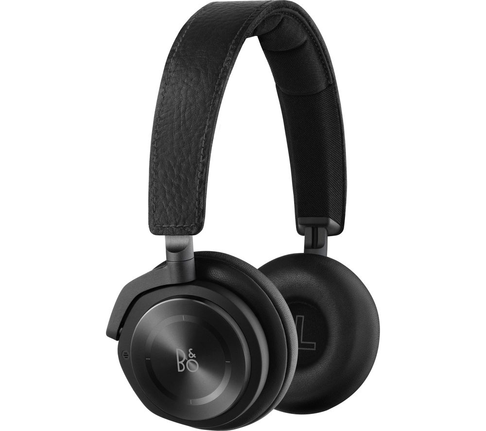 B&O Play B&O PLAY Beoplay H8 Wireless Bluetooth NoiseCancelling Headphones  Black Black