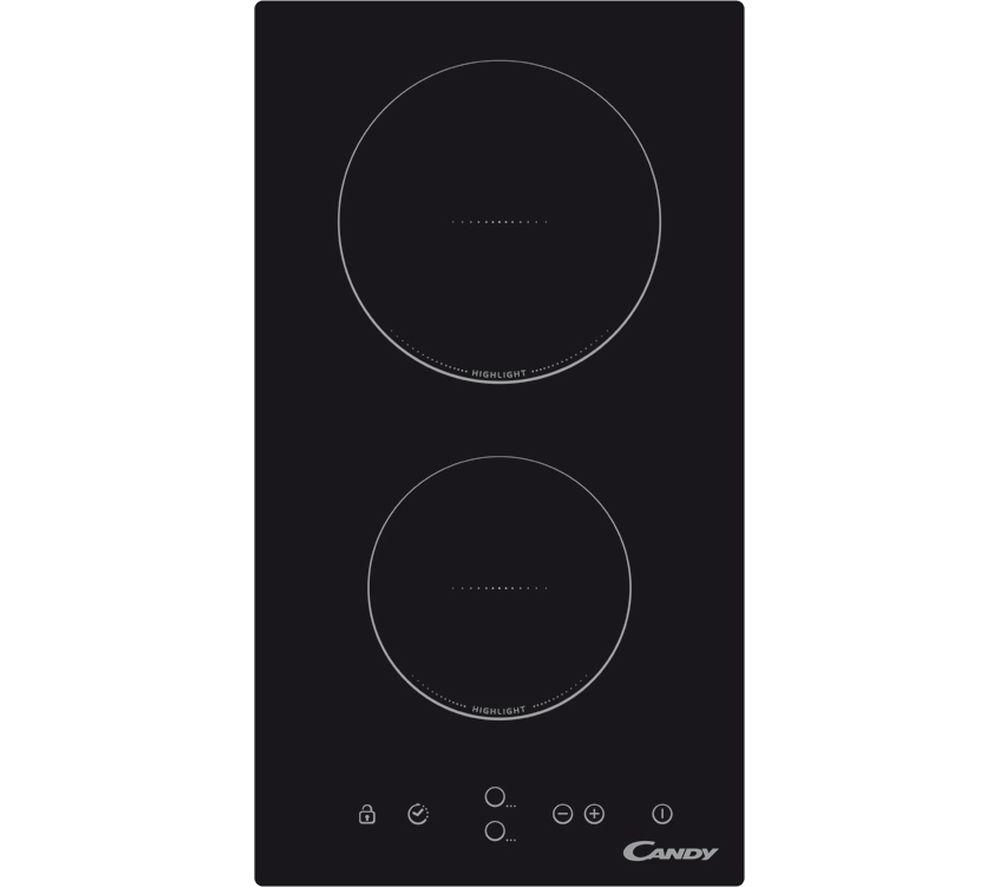 Image of CANDY CDH30 Electric Ceramic Hob - Black, Black