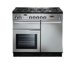 RANGEMASTER Professional+ 100 Dual Fuel Range Cooker - Stainless Steel
