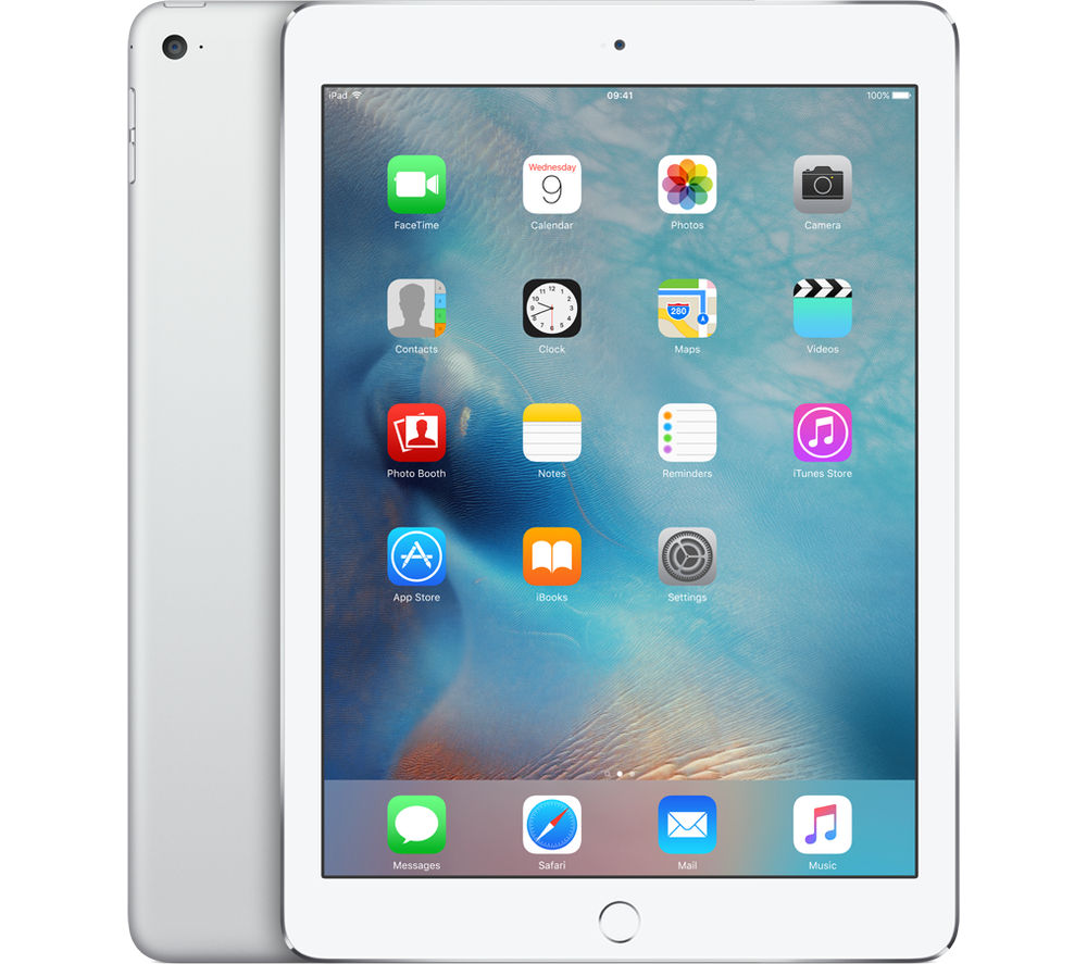 Image of Apple iPad Air 2 - 64 GB, Silver, Silver