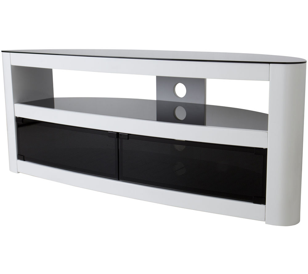 Buy AVF Burghley TV Stand  Free Delivery  Currys -> Meuble Tv Oval