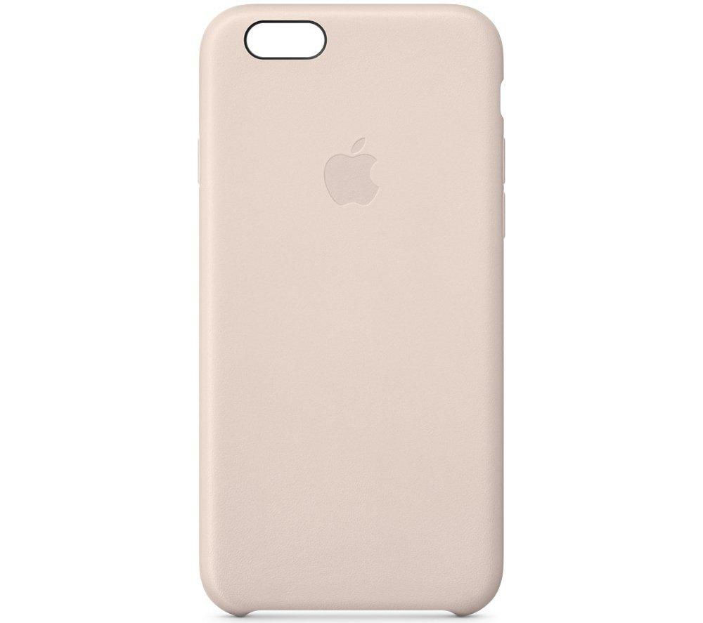 APPLE Leather iPhone 6 Case - Pink