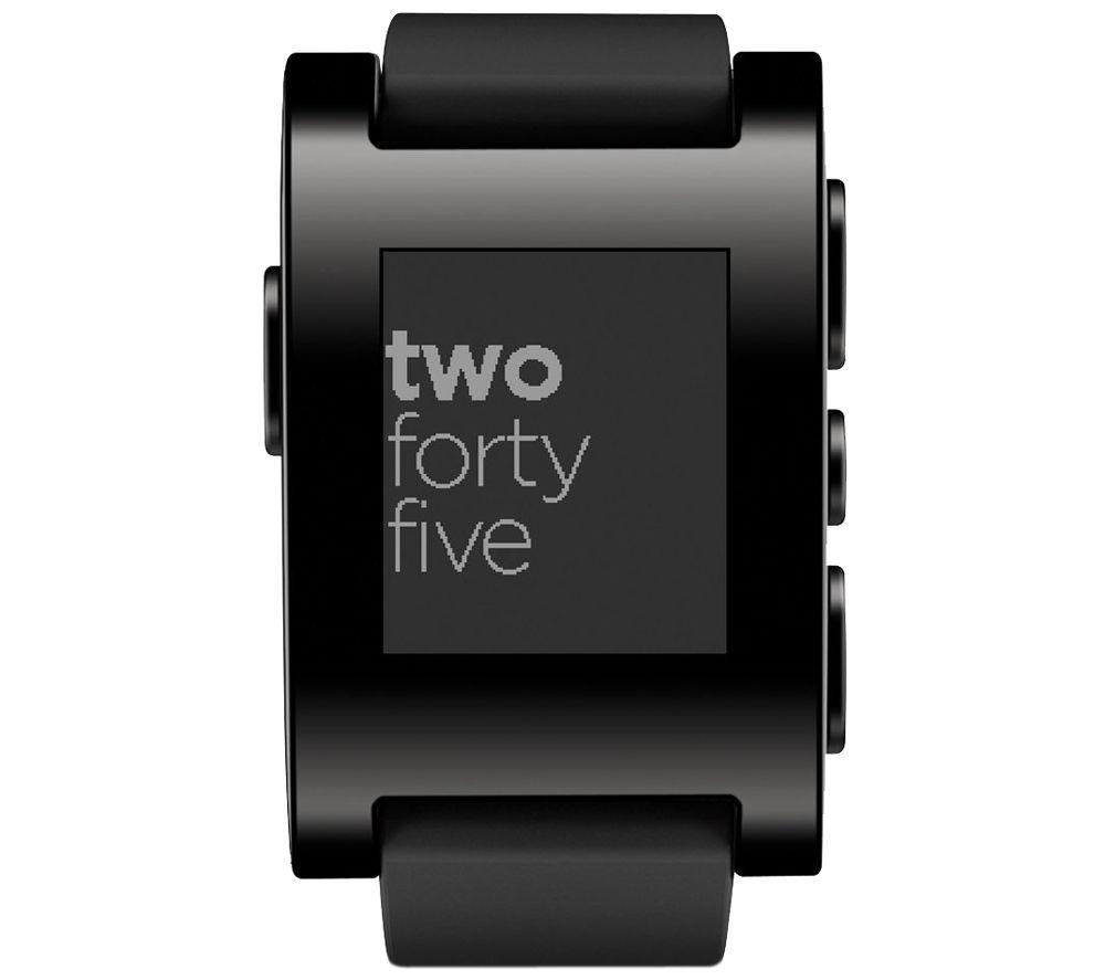 PEBBLE Smartwatch - Black