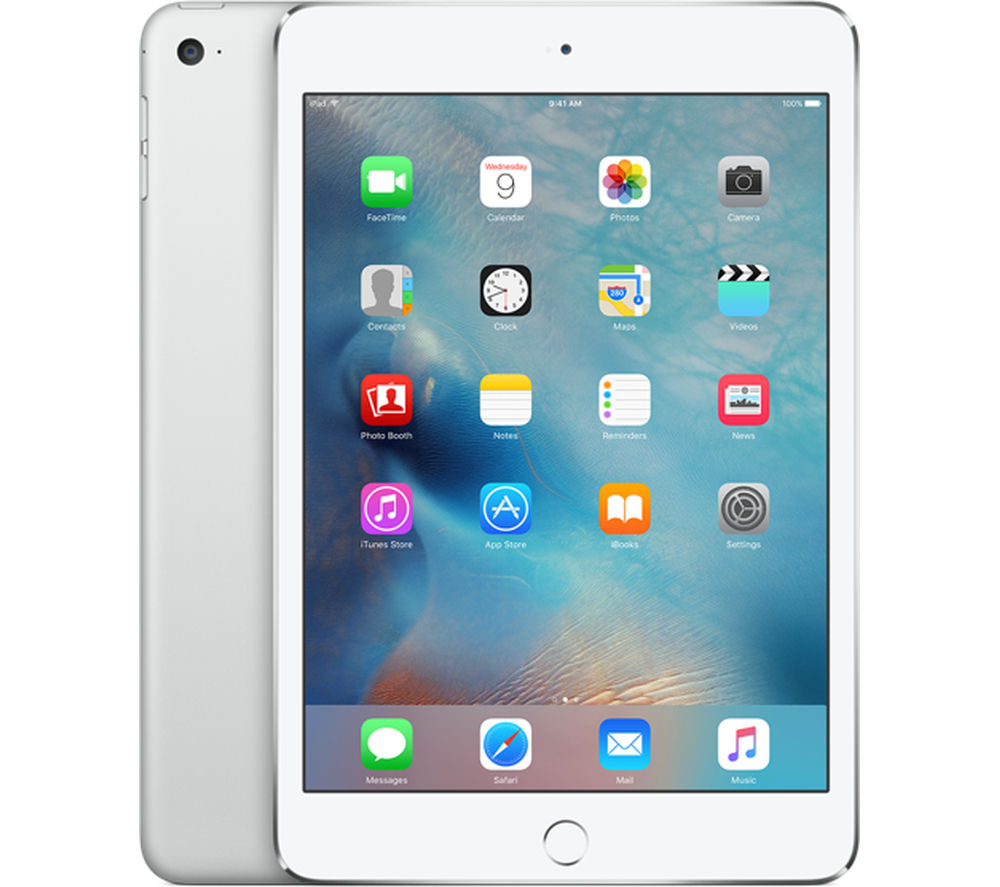Image of Apple iPad mini 4 - 16 GB, Silver