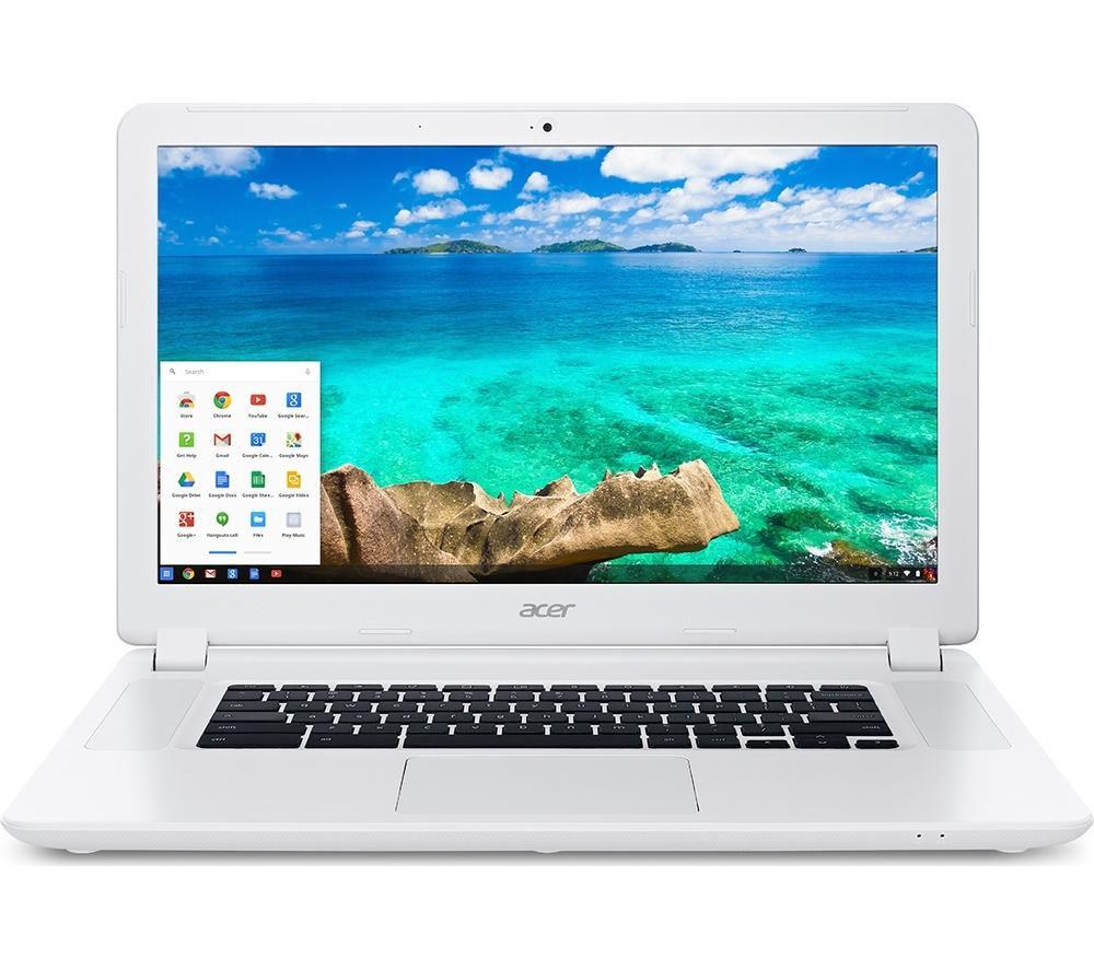 """ACER CB5-571 15.6"""" Chromebook - White"""