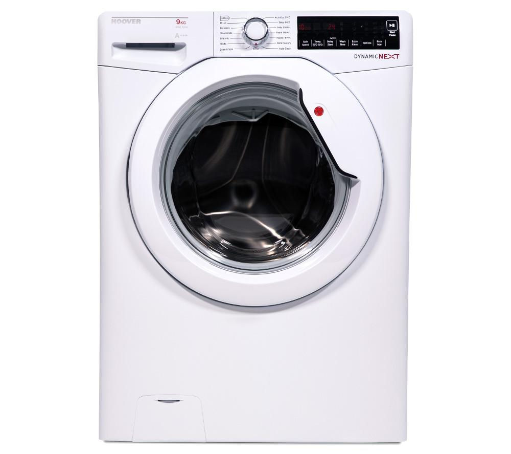 HOOVER  DXA49W3 Washing Machine - White +  VTV581NC Vented Tumble Dryer - White