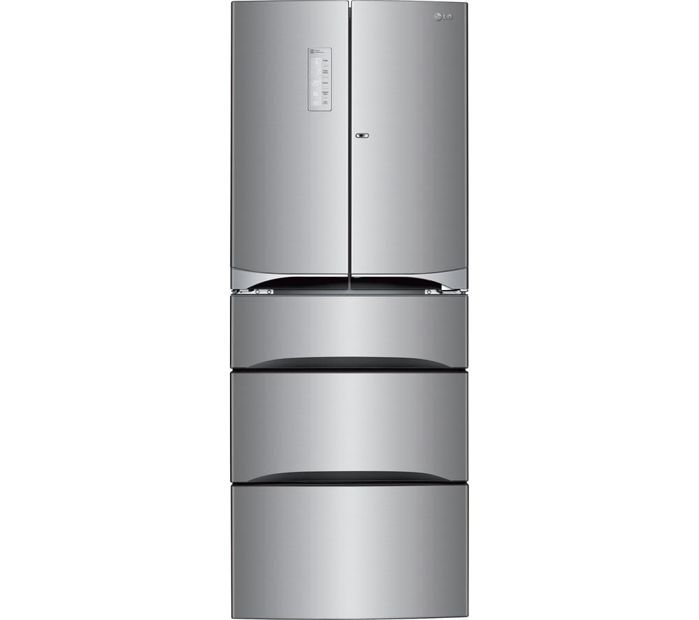 LG  GM6140PZQV Fridge Freezer  Stainless Steel Stainless Steel