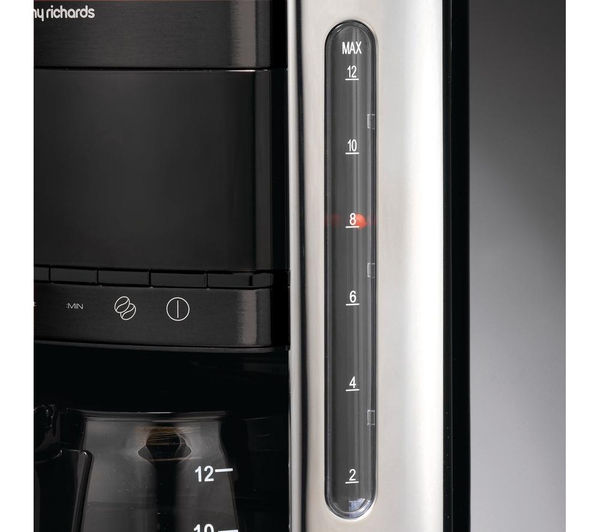 Buy MORPHY RICHARDS Accents 162003 Filter Coffee Maker - Black Free Delivery Currys