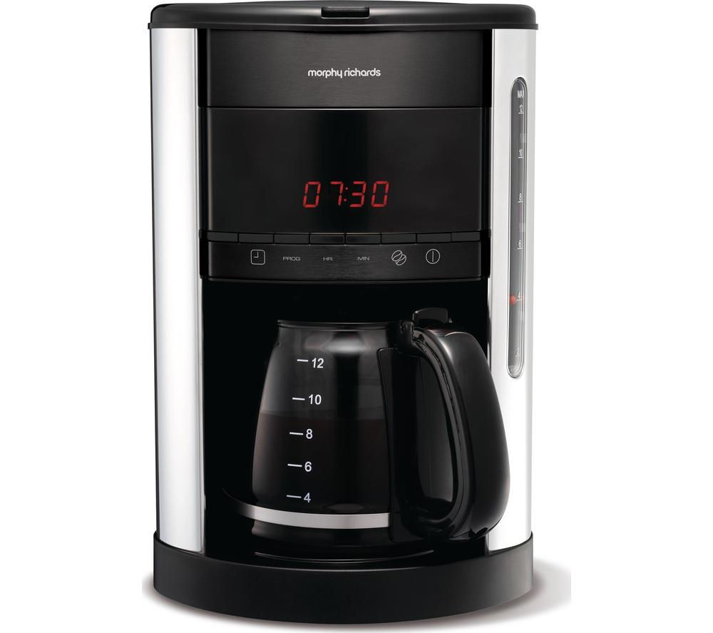 Coffee Maker At Currys : Buy MORPHY RICHARDS Accents 162003 Filter Coffee Maker - Black Free Delivery Currys