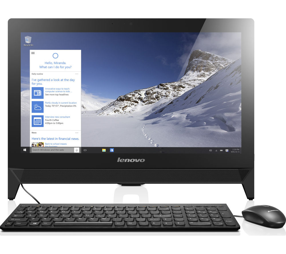 "LENOVO C20 19.5"" All-in-One PC"