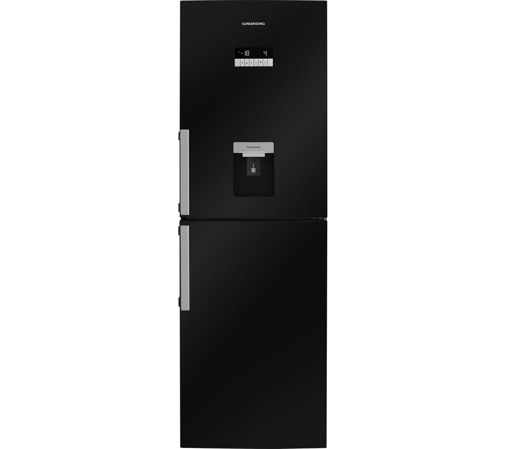 GRUNDIG  GKN16910DB Fridge Freezer  Black Black