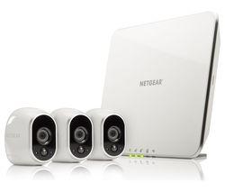 NETGEAR Arlo 3 VMS3330 Three-Camera Home Security Camera Kit