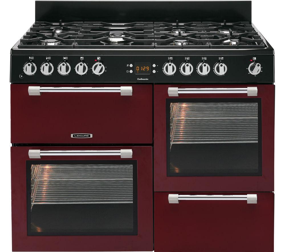buy leisure cookmaster ck110f232r dual fuel range cooker. Black Bedroom Furniture Sets. Home Design Ideas