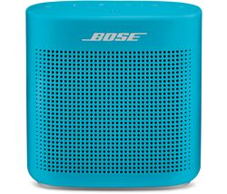 BOSE Soundlink Color II Portable Bluetooth Wireless Speaker - Aqua