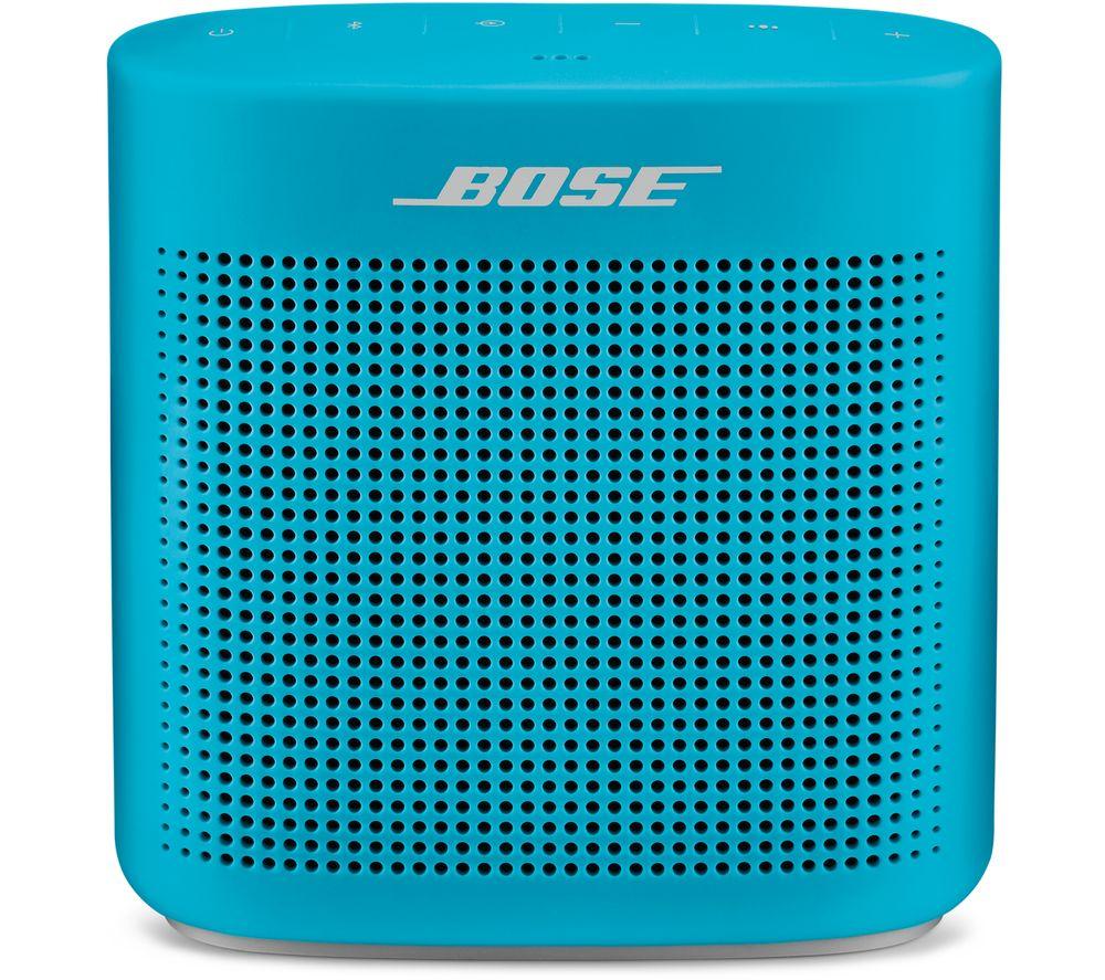 BOSE Soundlink Color II Portable Bluetooth Wireless Speaker - Aqua