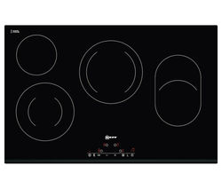 NEFF T11D83X2 Electric Ceramic Hob - Black