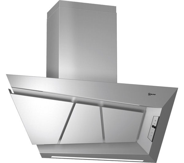 NEFF D99L20N0GB Chimney Cooker Hood - Stainless Steel