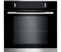 RANGEMASTER RMB608BL/SS Electric Oven - Black & Stainless Steel