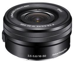 SONY E PZ 16-50 mm f/3.5-5.6 OSS Standard Zoom Lens
