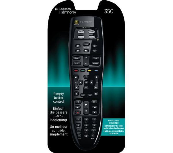 Harmony® 350 Remote Setup Guide
