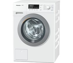 MIELE WKB130 Washing Machine - White & Chrome