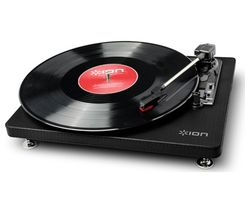 ION Compact LP USB Turntable - Black