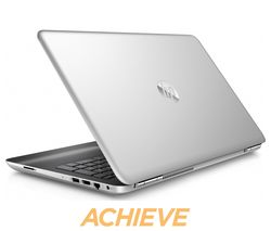 "HP Pavilion 15-au164na 15.6"" Laptop - Silver"