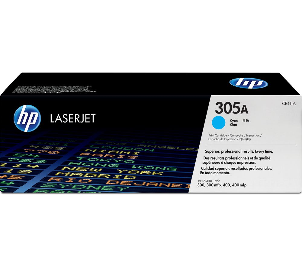 HP 305A Original LaserJet Cyan Toner Cartridge