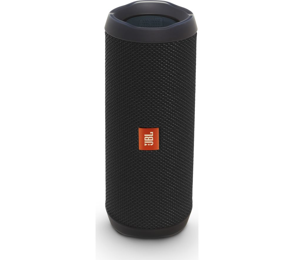 Buy JBL Flip 4 Portable Bluetooth Wireless Speaker - Black