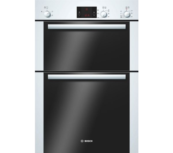 BOSCH Avantixx HBM13B221B Electric Double Oven - White