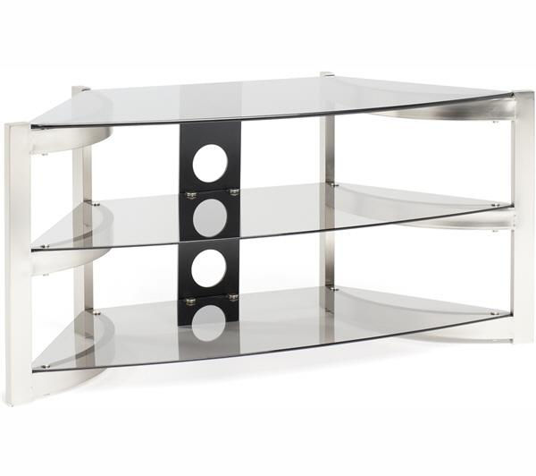 TECHLINK  Skala SK100TC TV Stand Brushed titanium