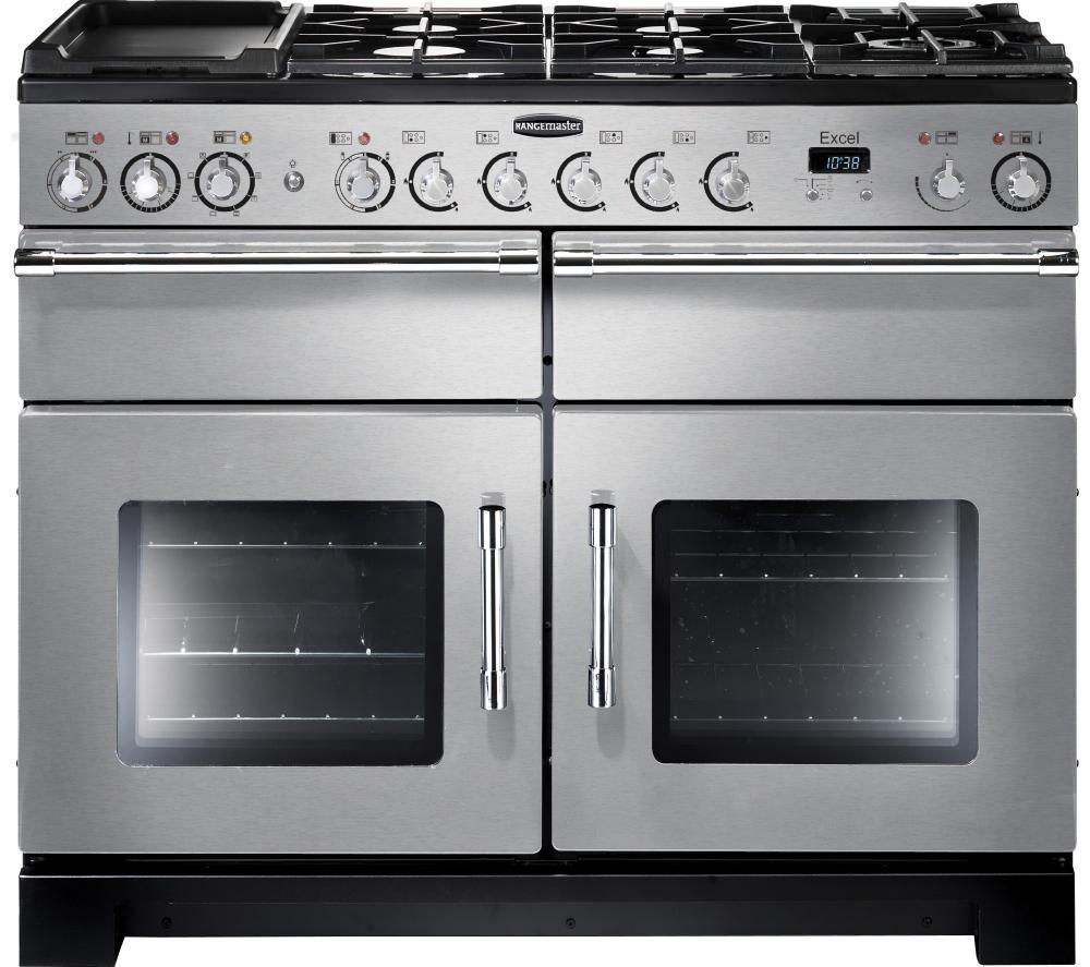 110 Dual fuel range cooker
