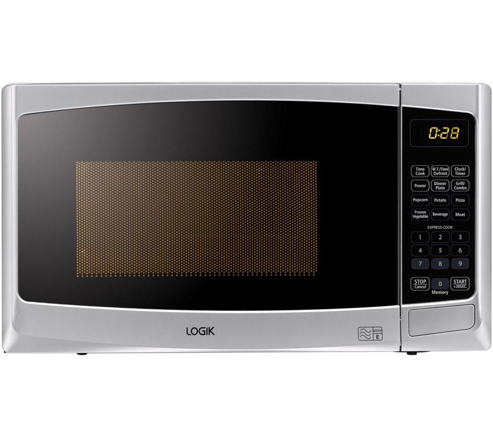 Logik L20gs14 Microwave With Grill Silver