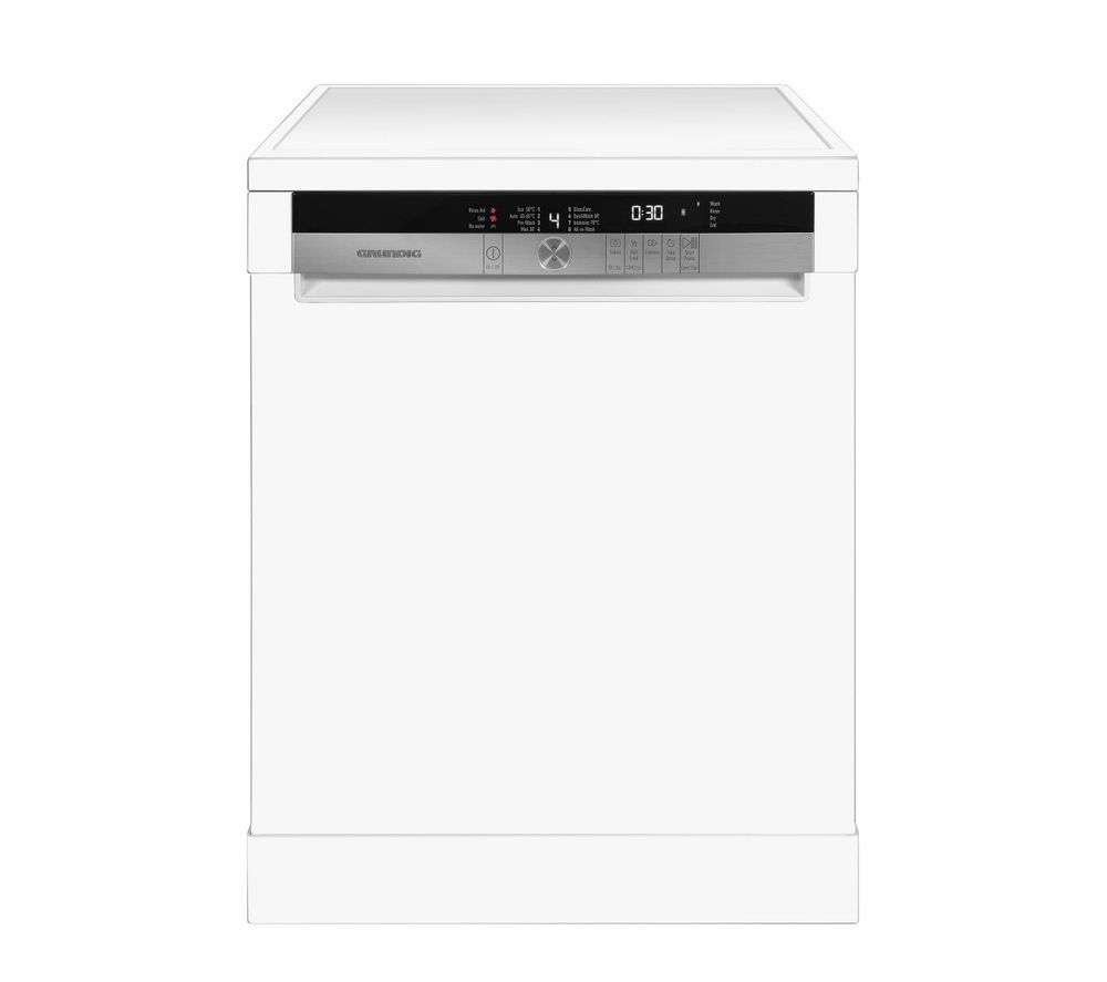 GRUNDIG GNF41810W Full-size Dishwasher - White