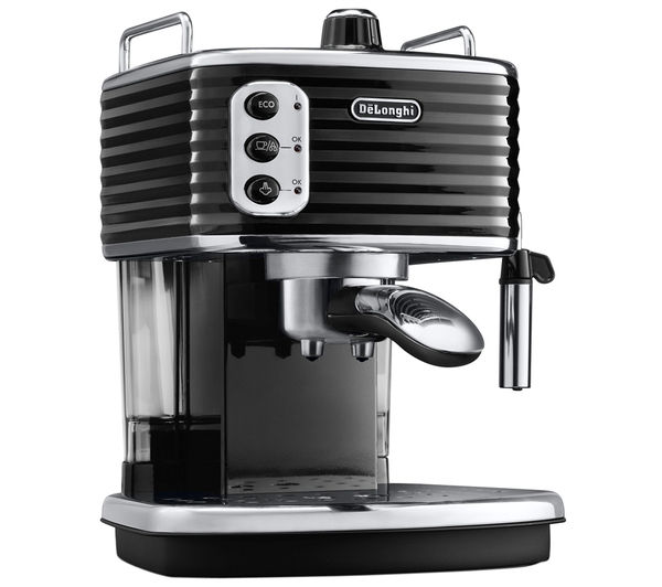 Buy DELONGHI Scultura ECZ351BK Coffee Machine - Black Free Delivery Currys