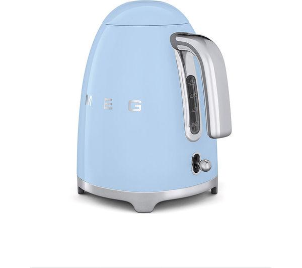 KLF01PBUK Jug Kettle  Blue + TSF02PBUK 4 Slice Toaster  Pastel Blue