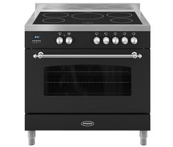 BRITANNIA Fleet 90 Single Electric Induction Range Cooker - Black