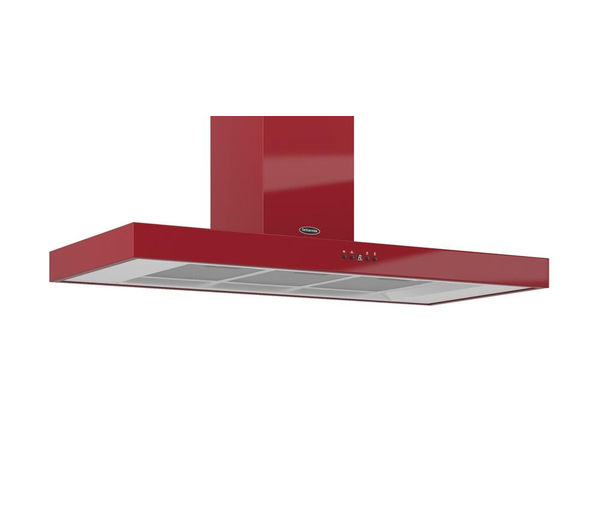 BRITANNIA  Arioso K7088A11R Chimney Cooker Hood  Gloss Red Red