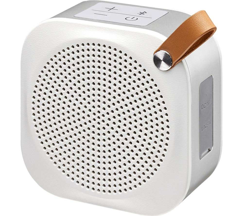 Image of JVC SP-AD50-W Portable Wireless Speaker - White, White