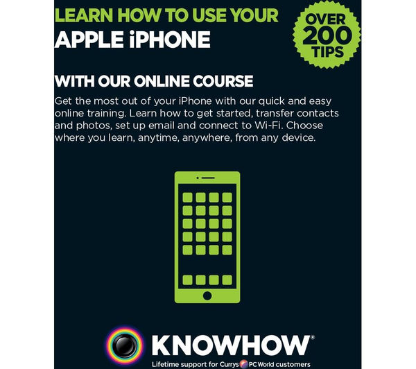 Knowhow Learn How To Use Your iPhone - 21st gift