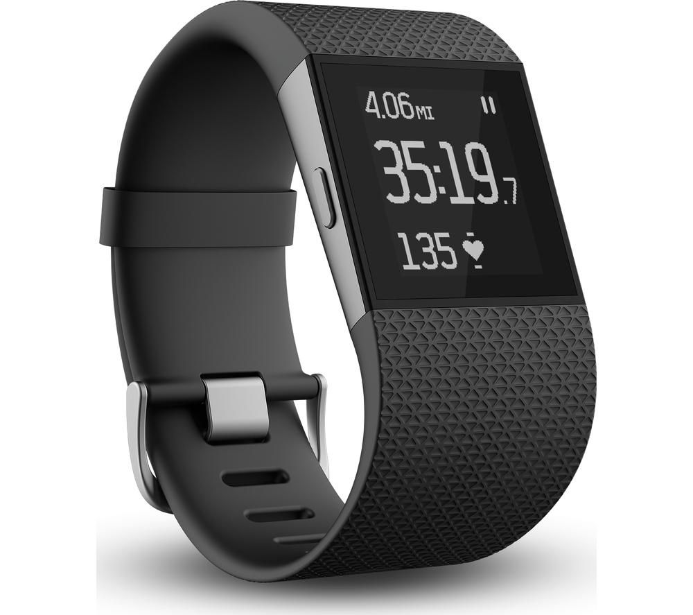 FITBIT Surge - Large, Black