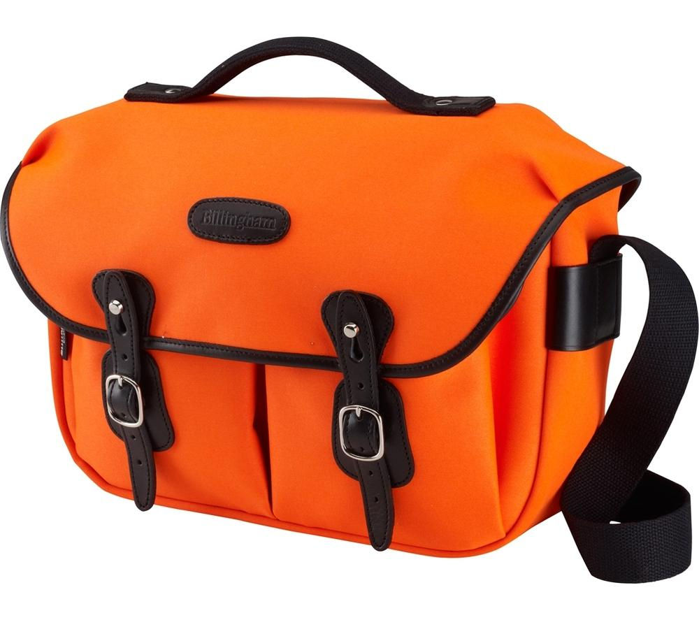 BILLINGHAM Hadley Pro Original DSLR Camera Bag - Neon Orange & Black